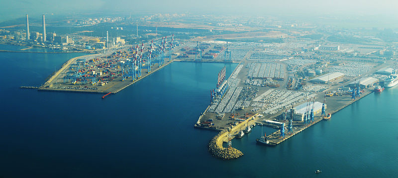 Ashdod Port Receives Chinese Crane