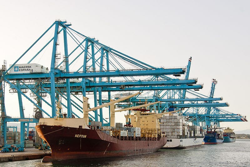 Algeciras Port's Cargo Traffic Rises In Jan-Apr 2018