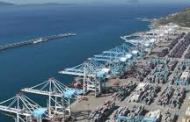 The world's largest container-handling cranes arrive at APM Terminals MedPort Tangier