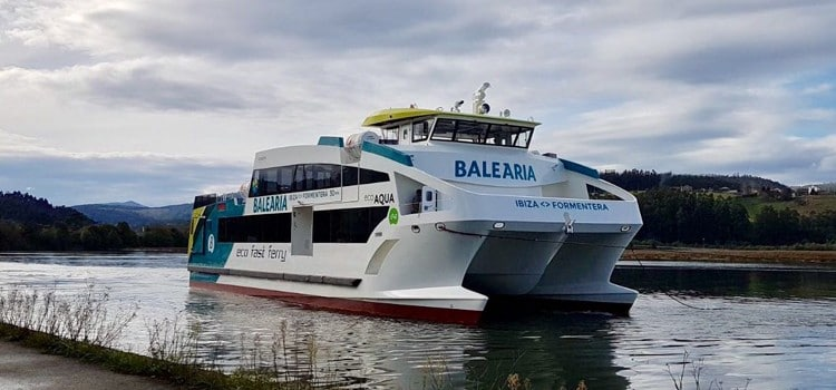 Baleària LNG Ferry Start Operations At Valencia Port
