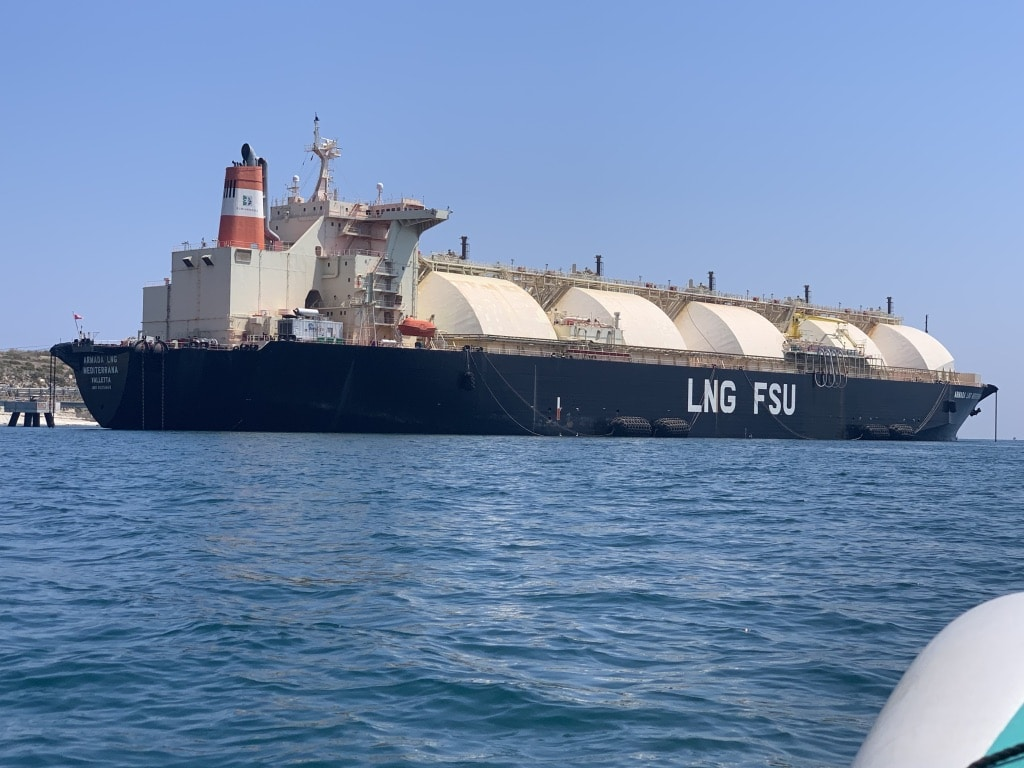 Marseille Port Carries Out First Cruise LNG Bunkering Operation