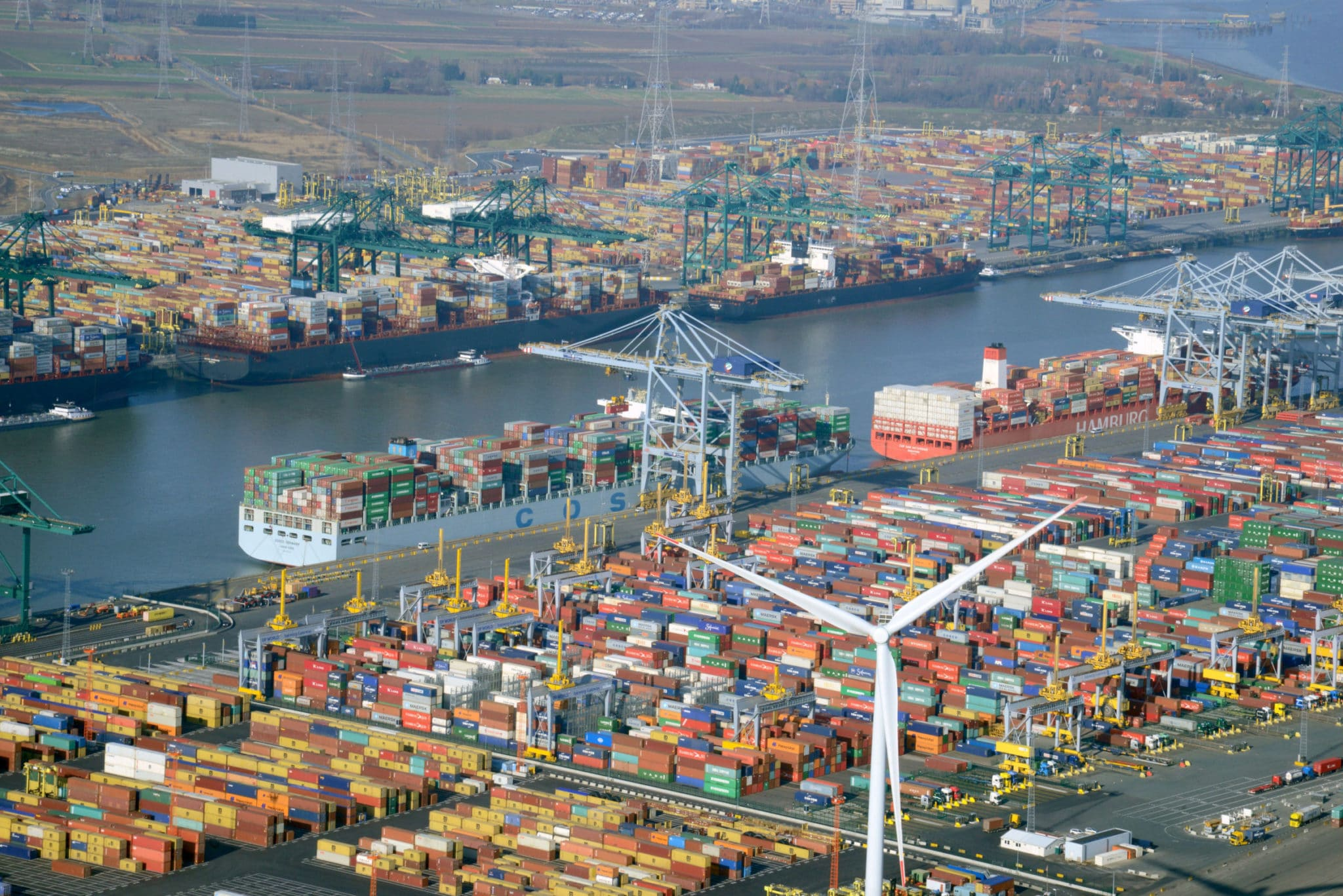 COSCO SHIPPING Ports Reports Container Throughput Down 3.7% In May