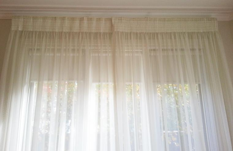 Custom made Pencil Pleat Curtains  Melbourne