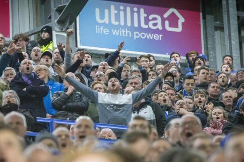 Les fans de Portsmouth