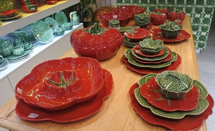Portuguese Ceramics, Pottery & Plates by Bordallo Pinheiro
