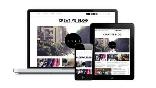 Wordpress Theme Creative Blog