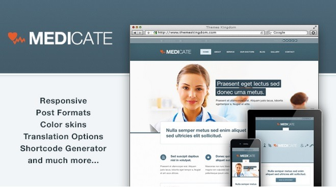Wordpress Theme Medicate
