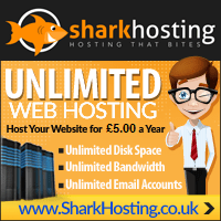 web hosting sharkhosting