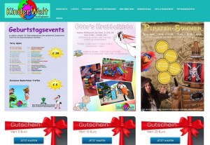 WEB Shop Gutscheinkarten