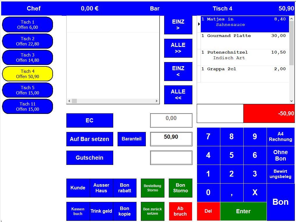 Kassensoftware, kassenprogramm, kassensysteme