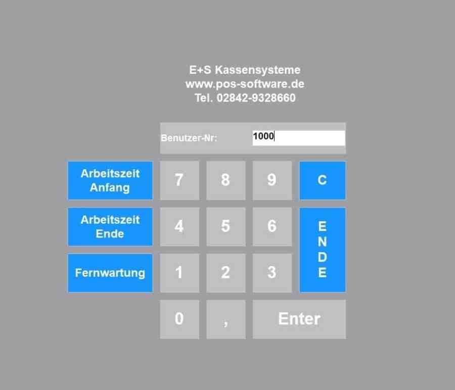 Kassensoftware-Anmeldung-Kasse