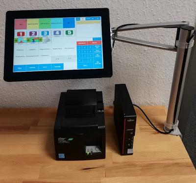 Kassensystem Eiscafe, Eisdiele - Komplett Kassensystem