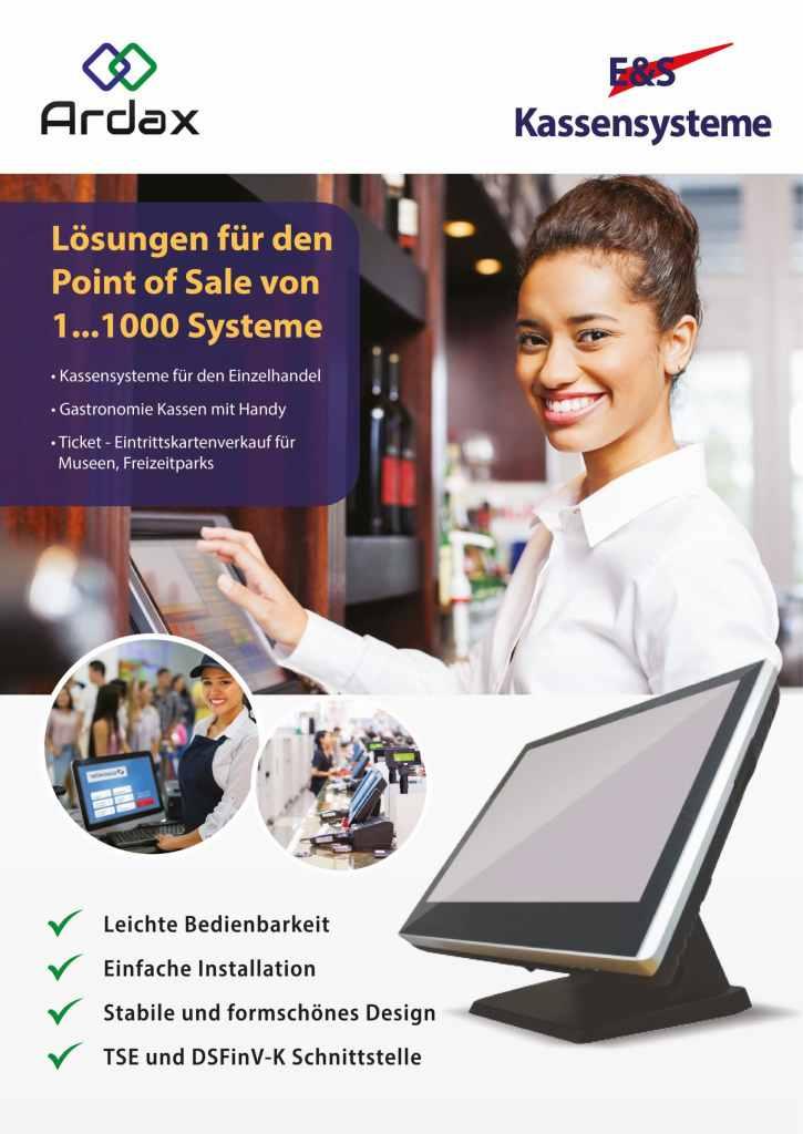 Kassensoftware für die Gastronomie, Handel, Ticketverkauf