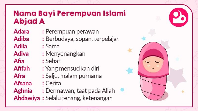 700+ Nama Bayi Perempuan Islami Pilihan | PosBunda