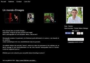 Capture du site Kabook