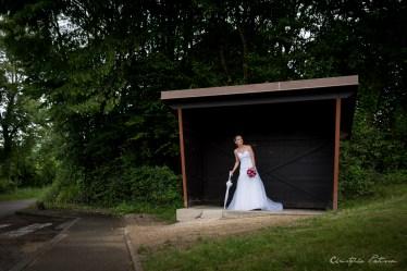 Photographe de mariage avec Mélanie