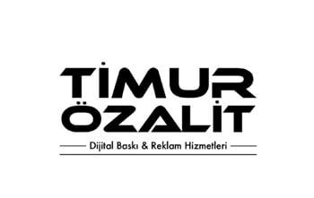 baskılı poşet timur ozalit logo