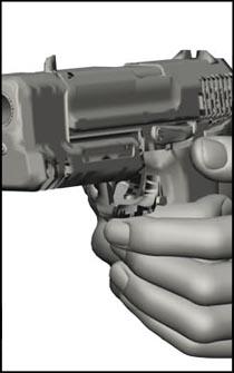 Male Gun Figure Reference Pose - Set 01