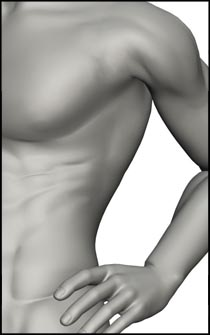 Male Standing Figure Reference Pose - Set 09