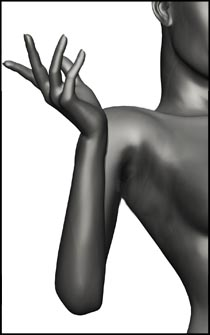 Female Gesture Pose - Drawing Anatomy and Figure Reference for Artists
