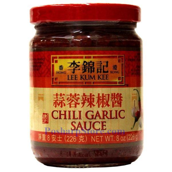 Lee Kum Kee Chili Garlic Sauce 8 Oz