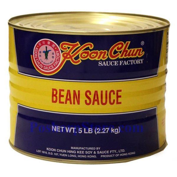 Picture of Koon Chun Bean Sauce 525 Lbs