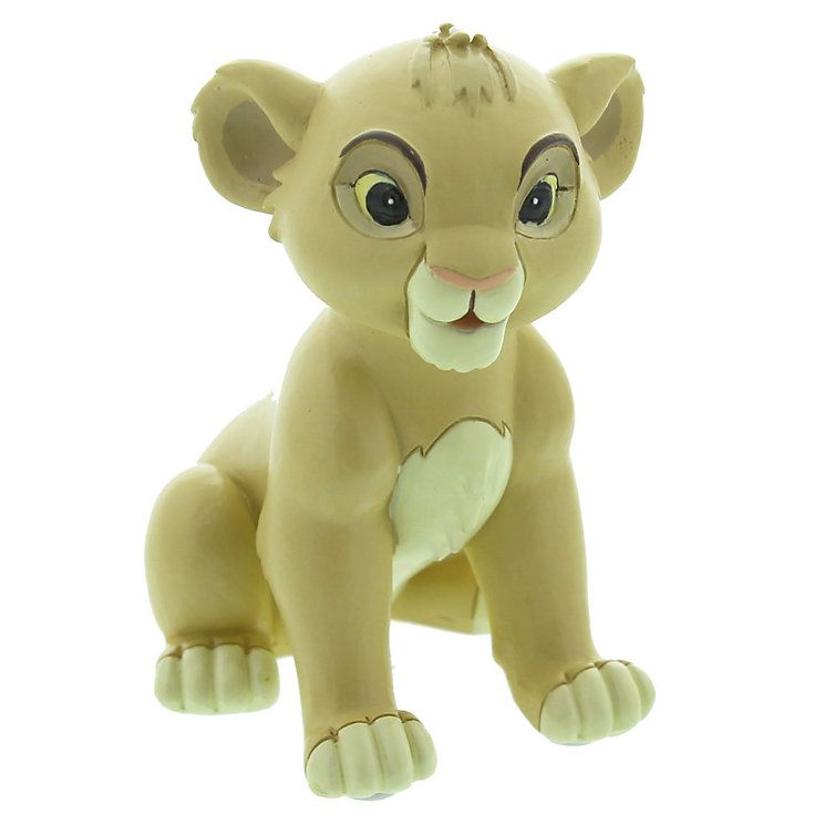 Disney Baby Simba Collectable Figurine Magical Moment Baby Christening Gift Titled Pride And Joy Lion King Gift