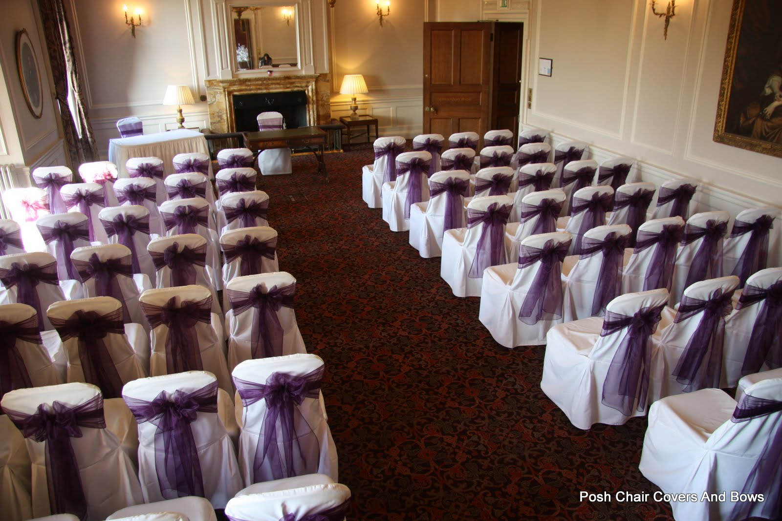 chair covers wedding yorkshire most comfortable reading posh bows chiavari chairs flower wall hire crathorne hall yarm cleveland