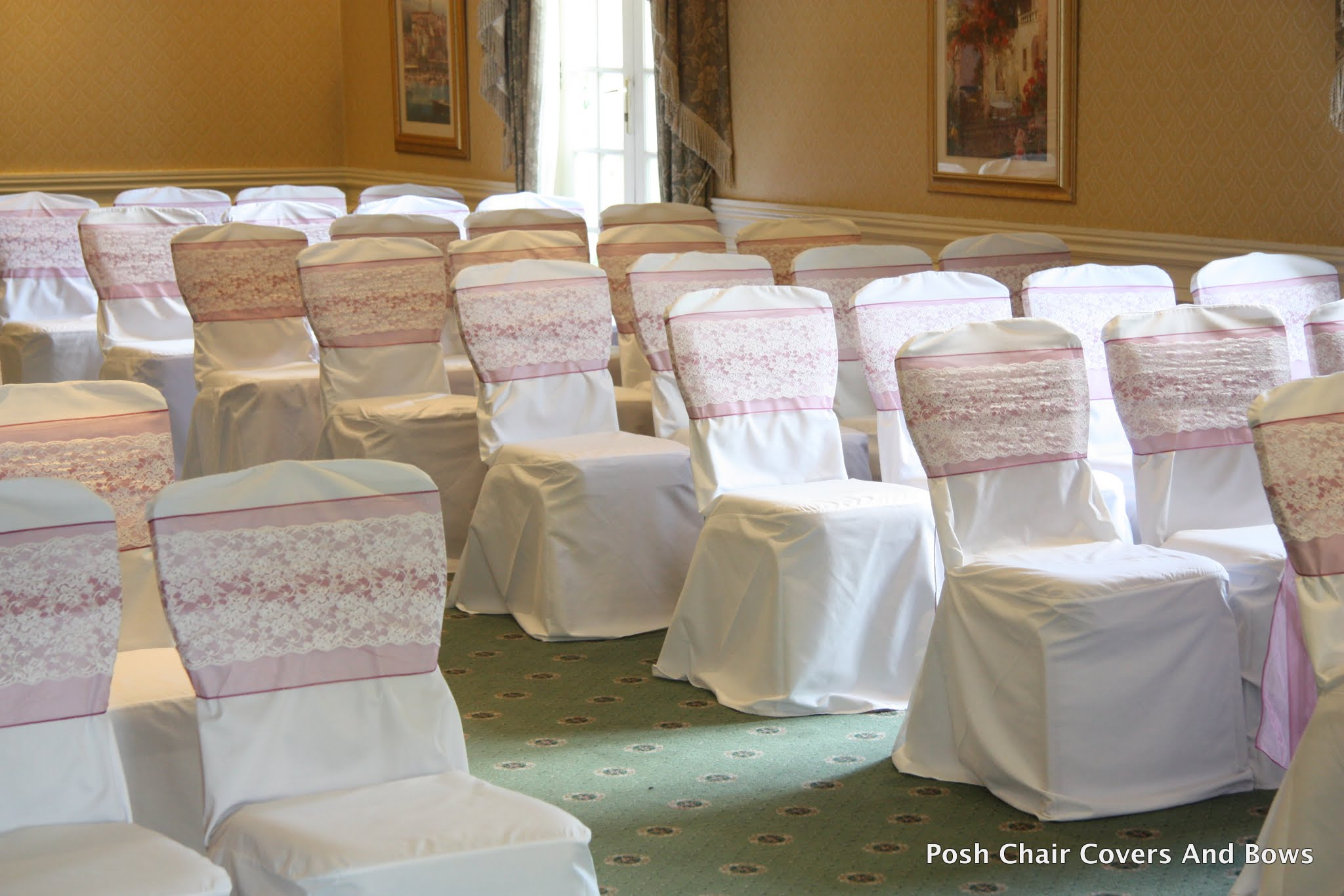 chair cover hire northumberland hanging cocoon posh covers and bows chiavari chairs flower wall