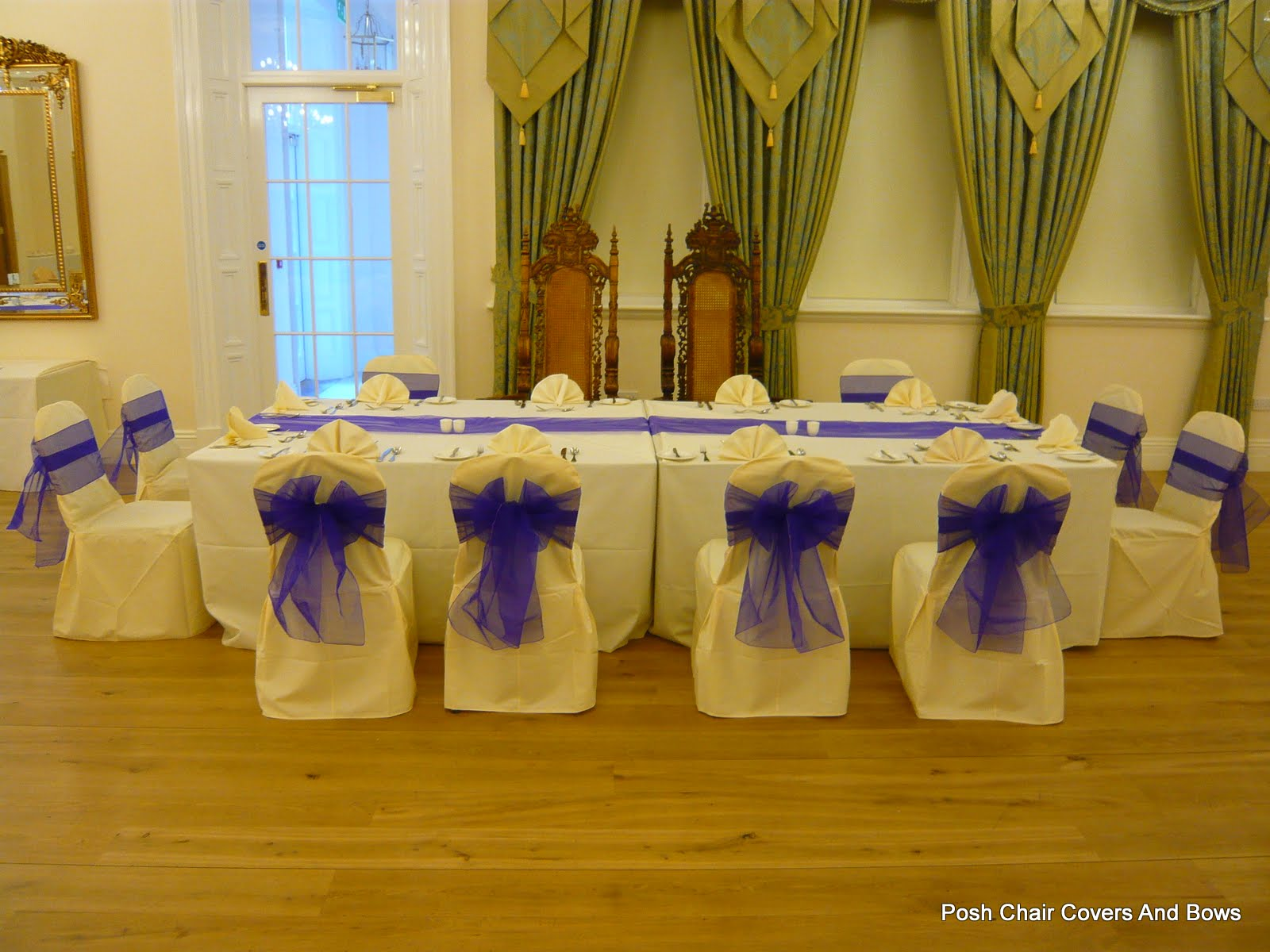 chair cover hire northumberland best big and tall desk chairs posh covers bows chiavari flower wall