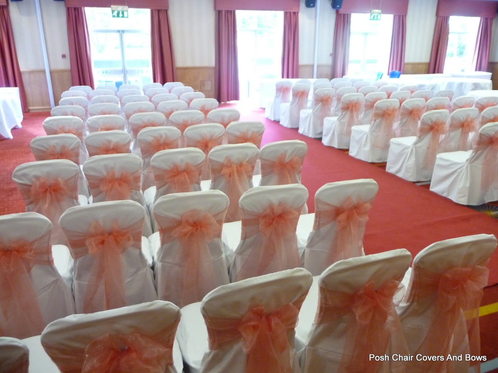 chair cover hire northumberland bedroom costco posh covers and bows chiavari chairs flower wall