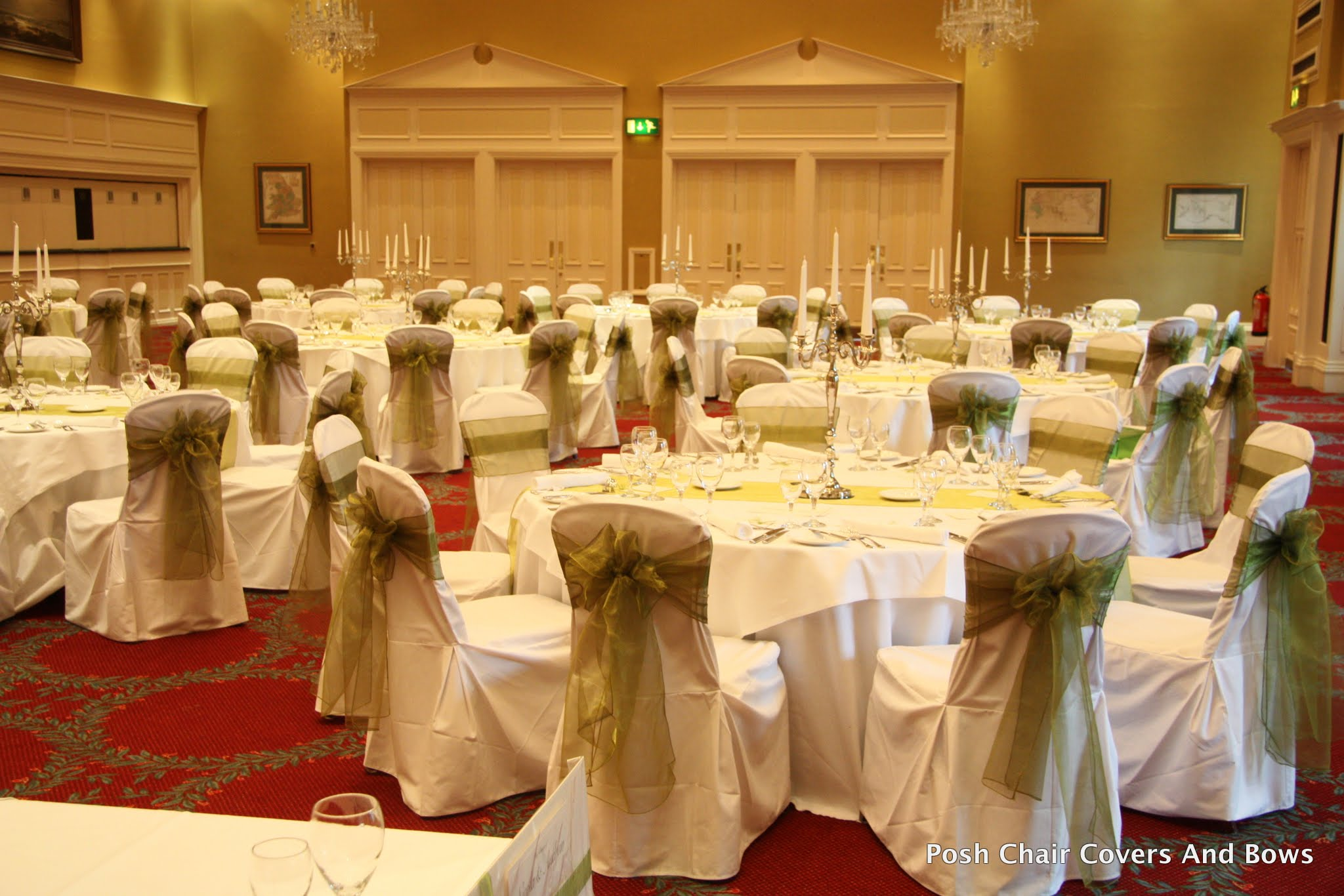 wedding chair cover hire sunderland dining room table with 6 chairs posh covers bows chiavari flower wall gisborough hall cleveland
