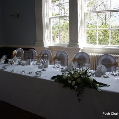 Chair Cover Hire Sunderland Styling Chairs Free Shipping Posh Covers Bows Chiavari Flower Wall Hatfield College Durham