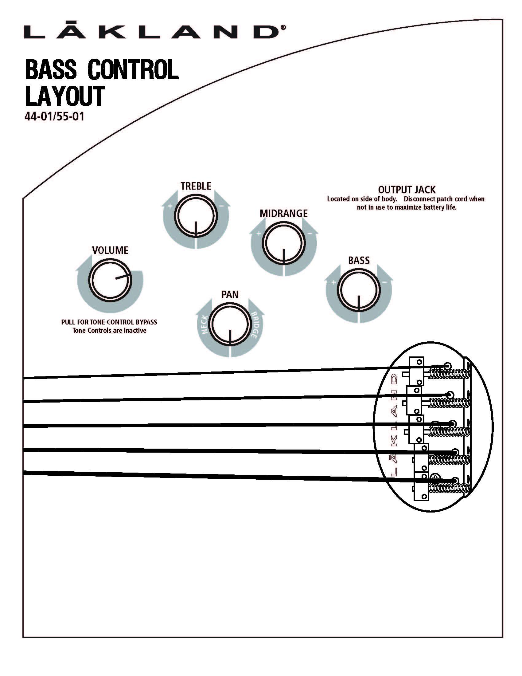 Lakland 44 01 Bass