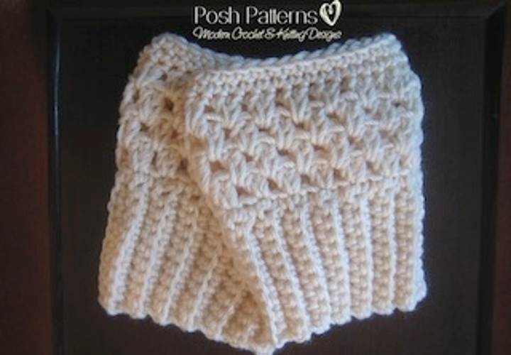 Free Crochet Boot Cuffs Pattern Posh Patterns