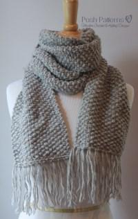 Knitting Patterns For Scarves