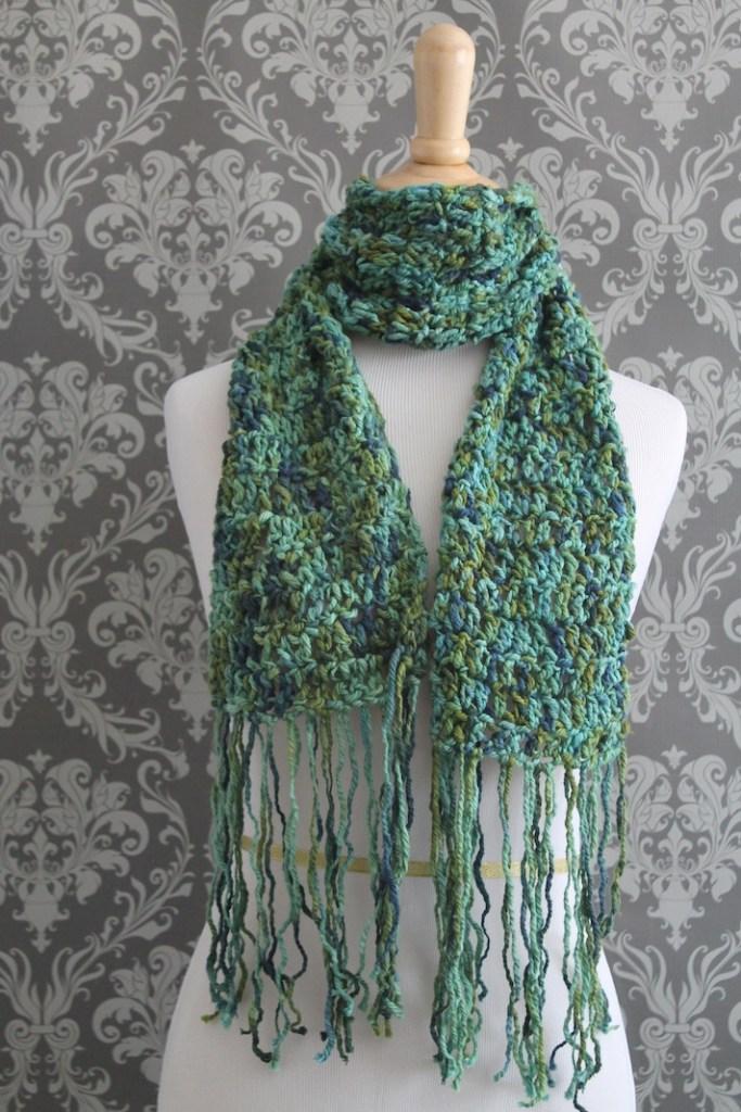 free crochet scarf pic 2