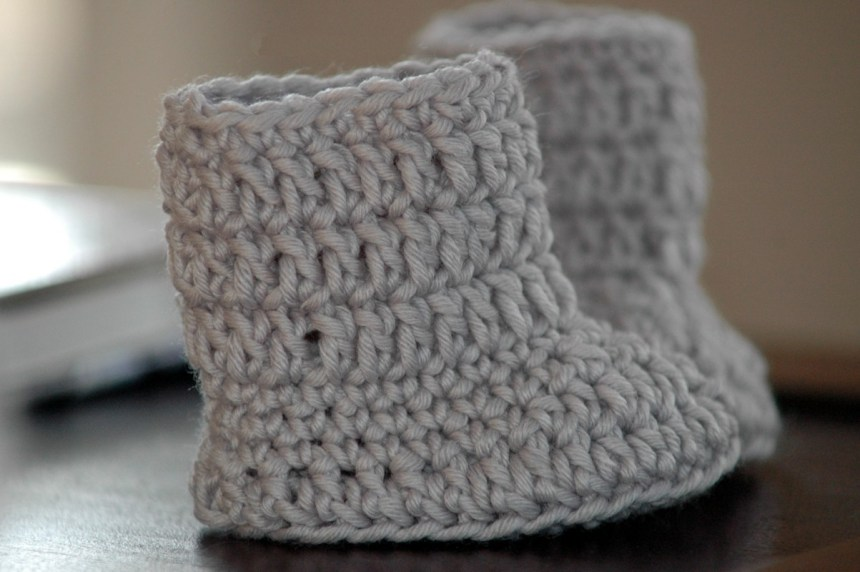 40cc25db542 Free Baby Boots Crochet Pattern