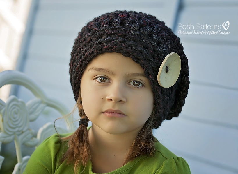 b040361b928 Trinity Stitch Free Crochet Hat Pattern