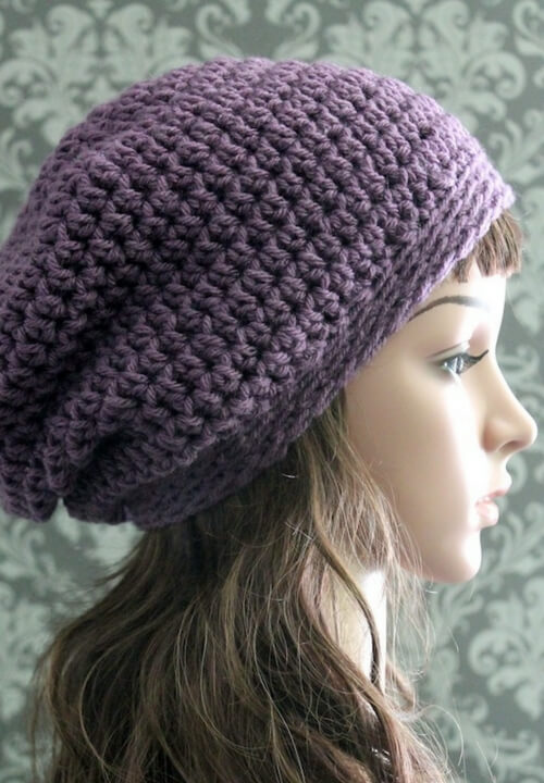 Free Crochet Slouchy Hat Pattern 35db6a3d9015