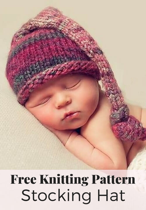 Free Stocking Hat Knitting Pattern 3d976935255