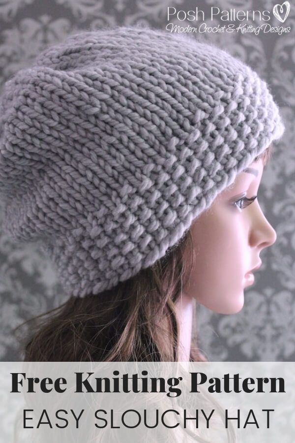 8ae40f28886 The XOXO Slouch Hat  A Free Crochet Pattern - Crafting for Weeks