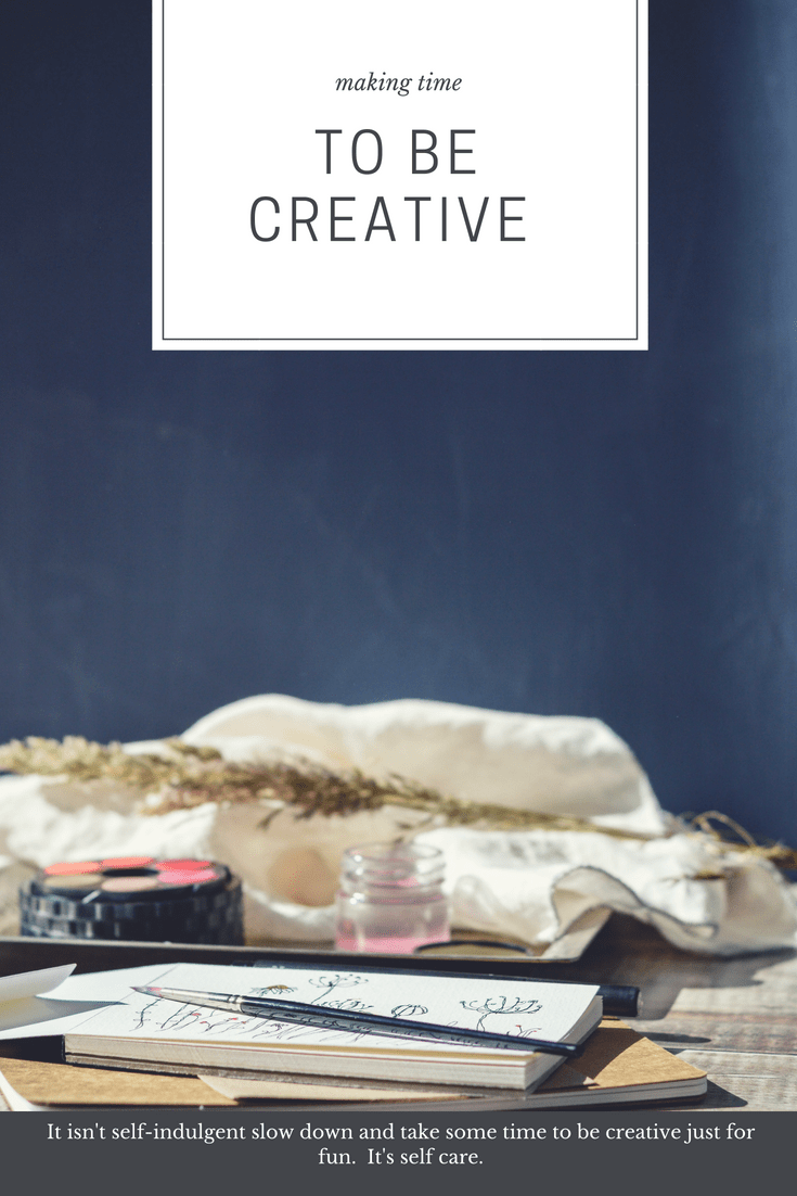 creativity and self care