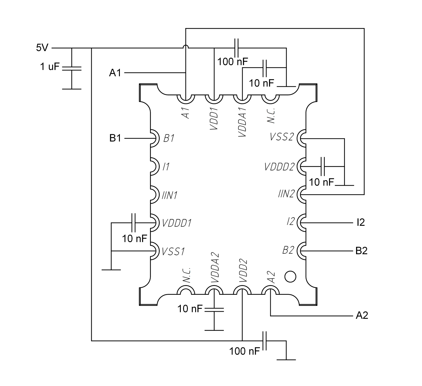 Rotary Inductive Encoder Chip With Index It C