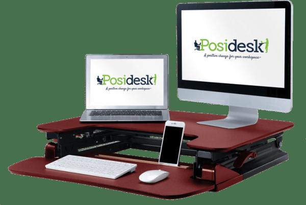 posidesk POSI201LWG sit stand desk 1