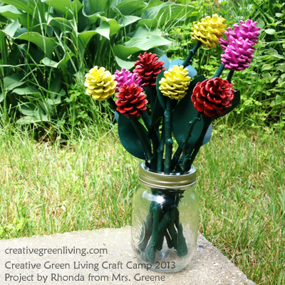 pinecone roses2
