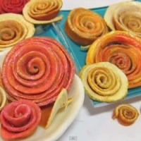 Romantic Dried Fruit Decoration Idea: Orange Peel Roses