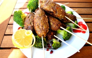 Fun and Healthy Kids Recipe: Meatballs on a Stick
