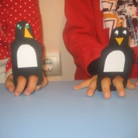DIY Penguin Finger Puppets Craft for Kids