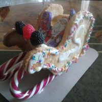 Christmas Cookie Recipe and Gift Idea: Santa's Sleigh Cookies